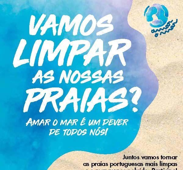 Campanha Vamos limpar as nossas praias