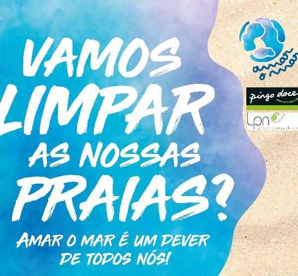 Vamos limpar as nossas praias. Santiago do Cacém e Sines