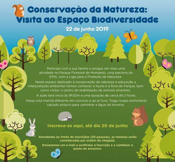 Visita ao Espaço Biodiversidade do Parque Florestal de Monsanto
