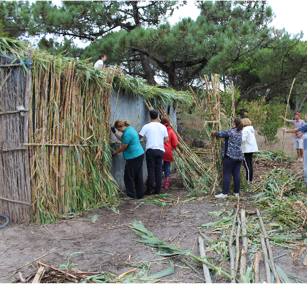 Cabanas tradicionais dos Pescadores da Lagoa de Óbidos - Atelier