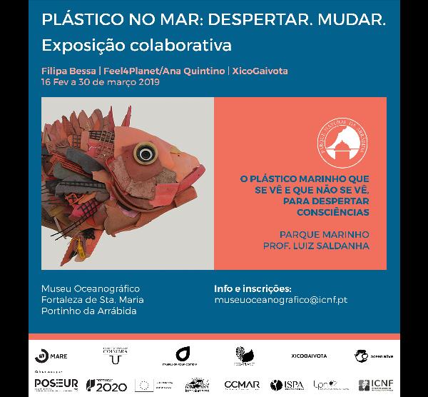 Exposição Plástico no mar: despertar para mudar