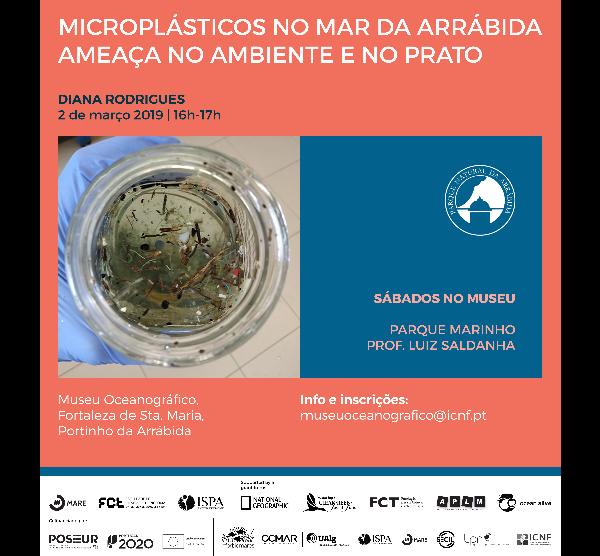 Sábados no museu | Microplásticos no mar da Arrábida