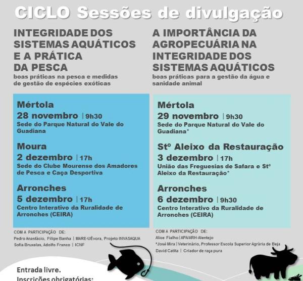 Sessões de disseminação de boas práticas - 2 e 3 DEZ