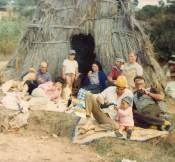 As «barracas» dos pescadores da Lagoa de Óbidos