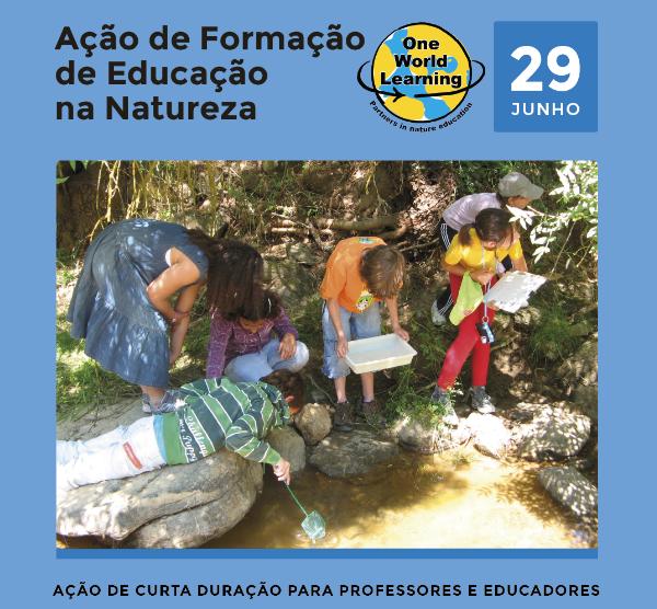Ação de Formação: Educação na Natureza