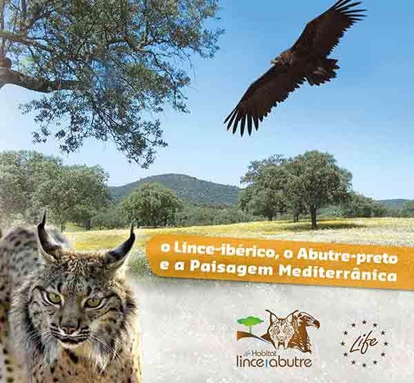 Brochura LIFE Habitat Lince Abutre - O Lince-ibérico, o Abutre-preto e a Paisagem Mediterrânica