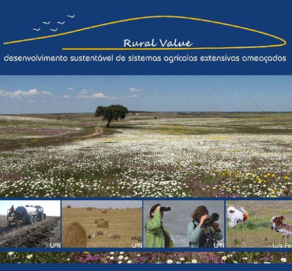 Panfleto Rural Value - desenvolvimento sustentável de sistemas agrícolas extensivos ameaçados