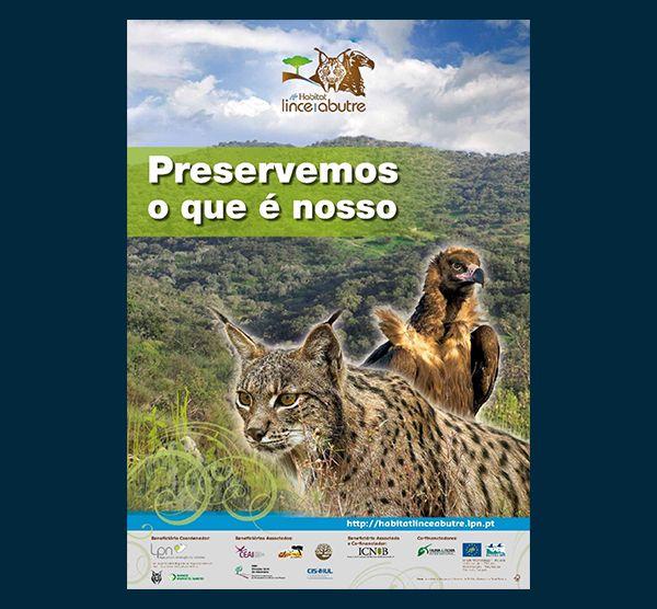 Poster LIFE Habitat Lince Abutre - Apresentação