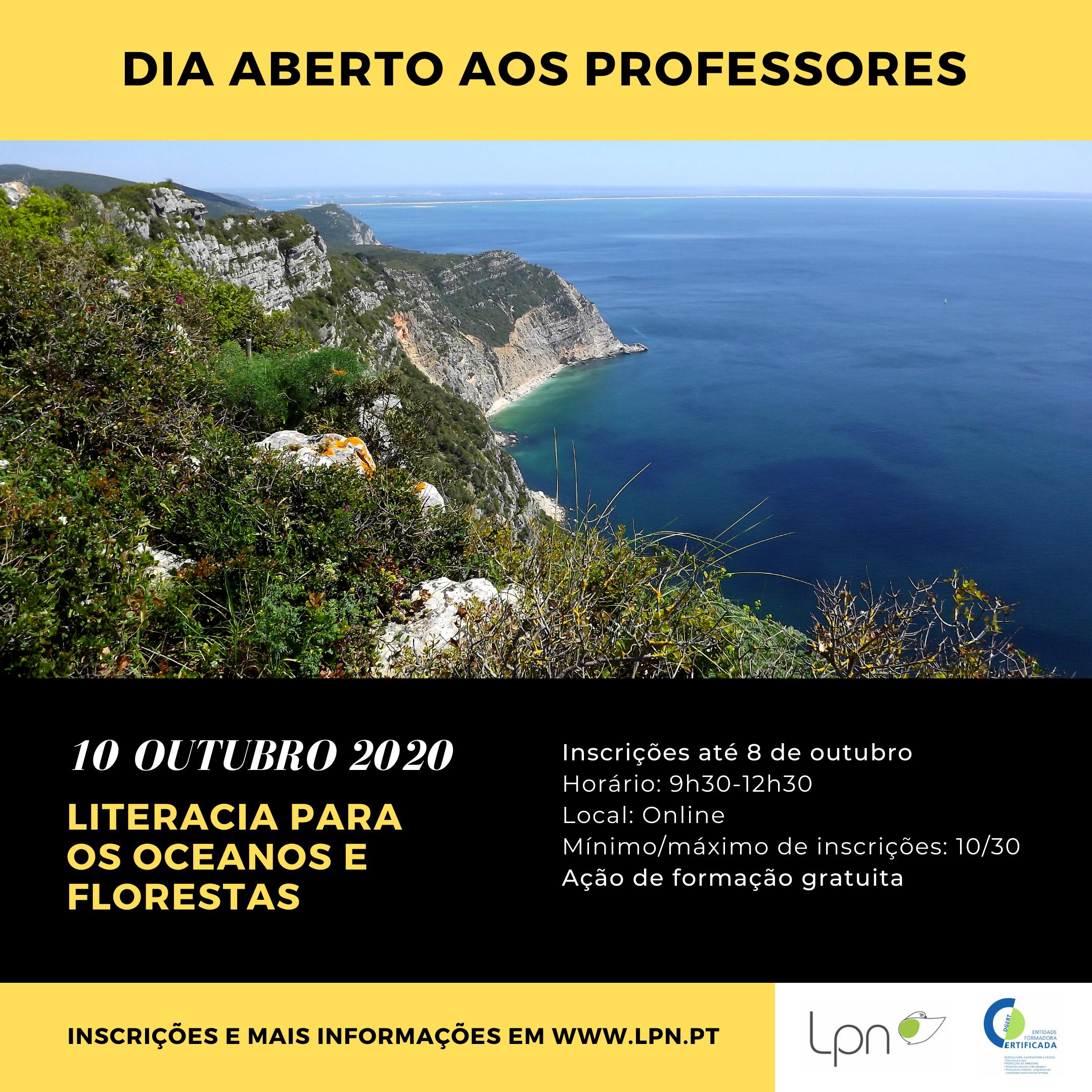 Literacia para os Oceanos e Florestas com a LPN