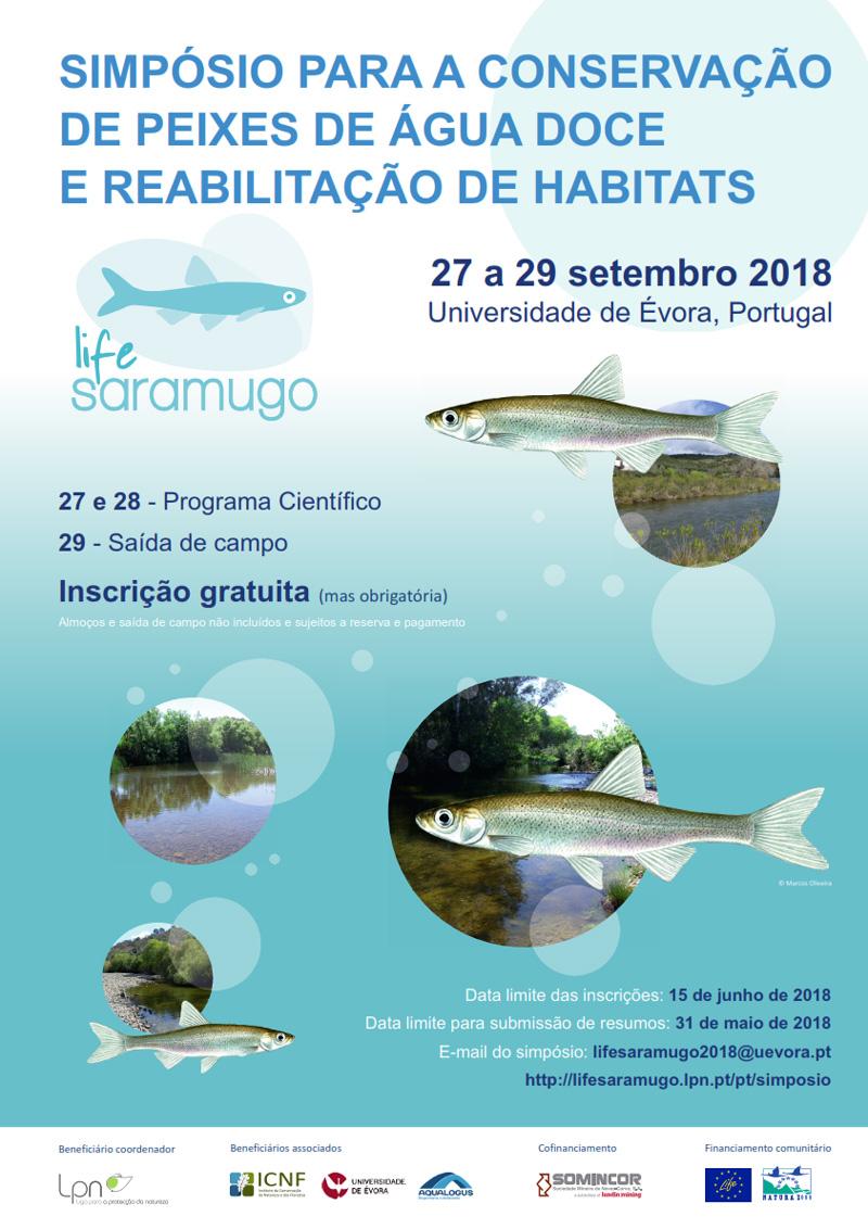 Simpósio para a Conservação dos Peixes de Água Doce e Reabilitação de Habitats