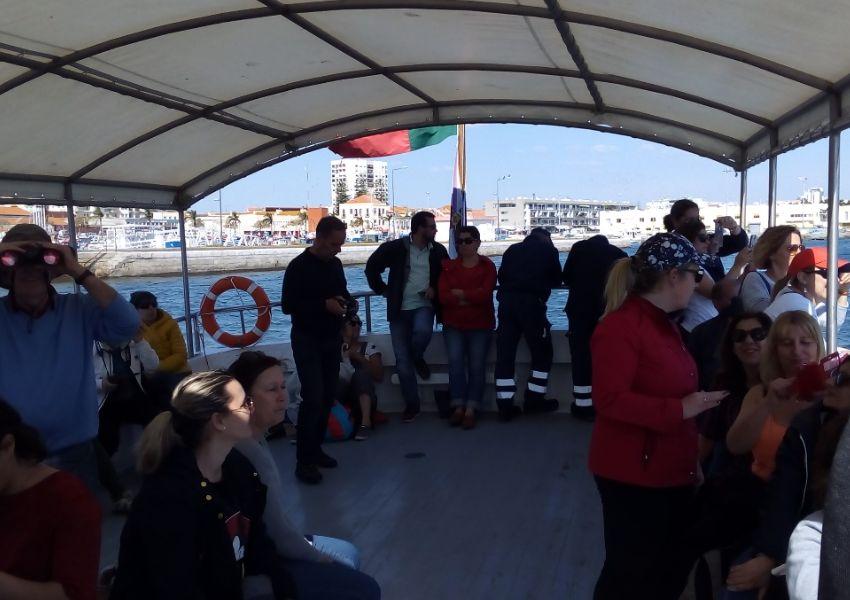 Navegar pelo Estuário do Sado