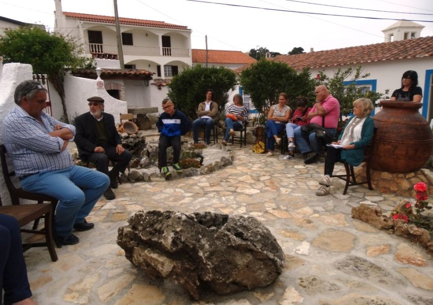 Conversas sobre a Lagoa de Óbidos