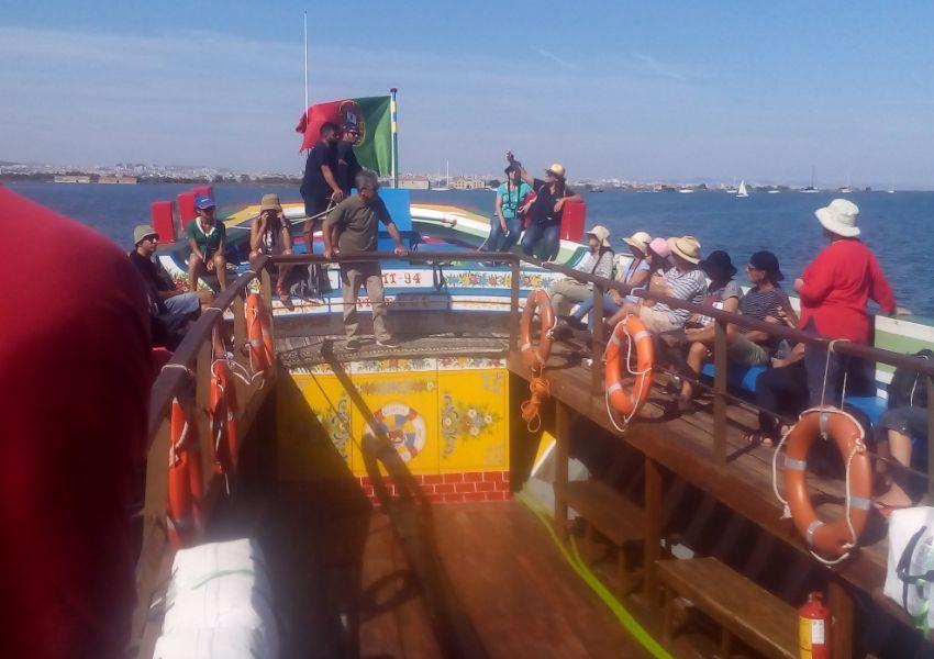 Navegando a bordo do Varino Amoroso