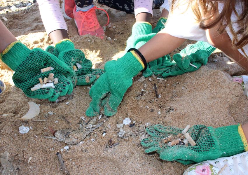 LPN encerra mais uma temporada de limpeza de praias