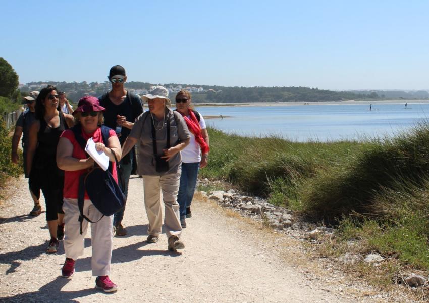 Poesia e histórias na Lagoa de Óbidos