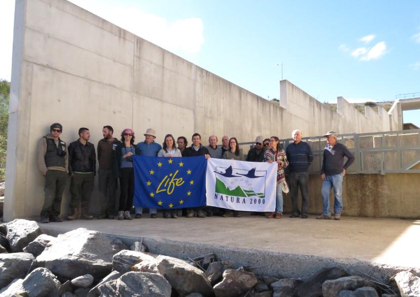 LIFE Saramugo apresenta medida de retenção de peixes exóticos