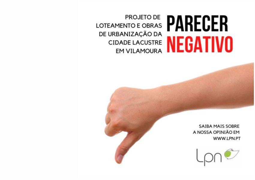 Parecer da LPN relativo ao Loteamento da Cidade Lacustre