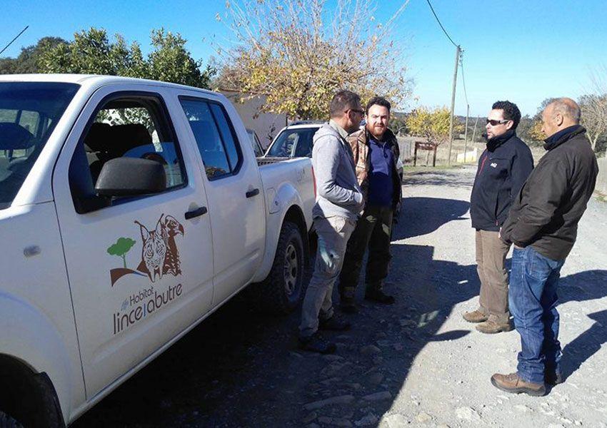 Especialistas visitam projeto de conservação do Abutre-preto