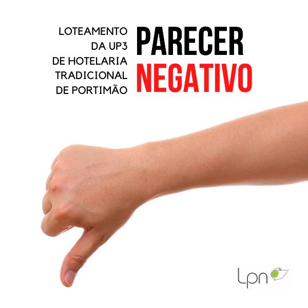 Loteamento da UP3 de Hotelaria Tradicional de Portimão