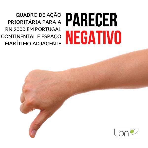 Contributo da Coligação C6 à consulta pública ao Quadro de Ação Prioritária para a Rede Natura 2000 em Portugal continental e espaço marítimo adjacente