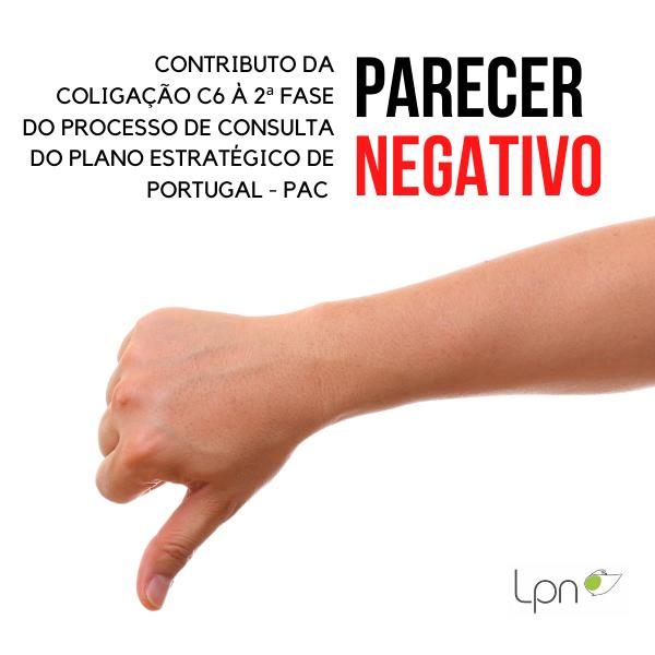 Contributo da Coligação C6 à 2 fase do Processo de consulta alargada do Plano Estratégico de Portugal no âmbito da Política Agrícola Comum